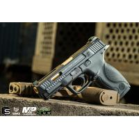 Buy cheap EMG / SAI / Smith & Wesson Licensed M&P 9 Full Size Airsoft GBB Pistol - Black (Package: Gun Only) from wholesalers