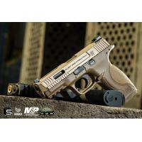 Buy cheap EMG / SAI / Smith & Wesson Licensed M&P 9 Full Size Airsoft GBB Pistol - Tan (Package: Gun Only) from wholesalers