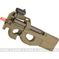 Buy cheap FN Herstal Licensed P90 Full Size Metal Gearbox Airsoft AEG - Dark Earth from wholesalers