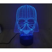 Wholesale Starwars Darth Vader 3D Led Lamp from china suppliers
