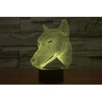 Wholesale Hunting Dog Shape 3D Led Lamp from china suppliers