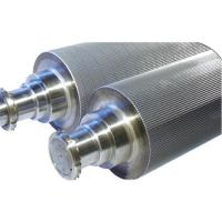 Alloy steel corrugated roller