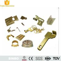 Buy cheap Custom Brass sheet metal stamping component fabrication parts from wholesalers