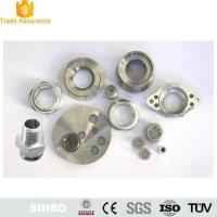 Buy cheap Electroless Plating Aluminum flanged nut hex flange from wholesalers