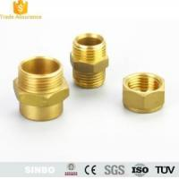 Buy cheap CNC Machining Brass Threaded Tube Fitting/Elbow Brass Hose Fitting Parts from wholesalers