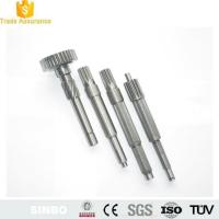 Buy cheap CNC Lathe Turning Aluminum Shaft Machining Parts/Thread Shaft and Down Pins from wholesalers