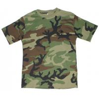 Wholesale Woodland camo T-shirt TS-06 MILITARY Tactical CLOTHING from china suppliers