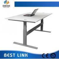 Height adjustable working desk table Iron frame , Hot sales ,Ergonomic office furniture for sale