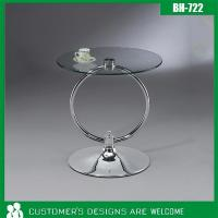 Wholesale [BH-722] Modern Style Round Glass Table from china suppliers