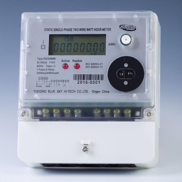 Single Phase Electric Meter : Single phase electric energy meter of item