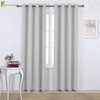 Wholesale Greyish White Thermal Insulated Blackout Window Treatment from china suppliers
