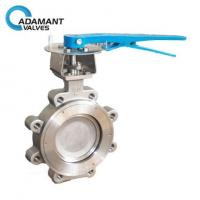 Lugged High Performance Butterfly Valves, 316 Body, Lever Operator