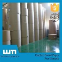 Wholesale White cardboard, Ivory board,Pemium coated white top liner from china suppliers