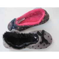 Buy cheap Normal Roonshoes Portable Coral Fleece Printing Dance Shoes For Lady from wholesalers