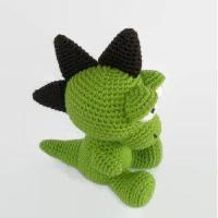 China High quality soft baby toy stuffed knitted Baby Dragon Crochet Dragon on sale