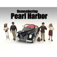 Wholesale Remembering Pearl Harbor 4 Piece Figure Set For 1:18 Scale Models by American Diorama from china suppliers