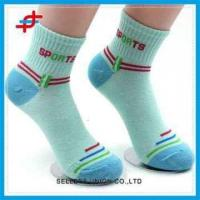Buy cheap Tube Colorful Sports Socks For Young Girls,Soft and Fashion from wholesalers