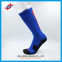 Buy cheap High Quality Handsome Blue Color Compression Socks from wholesalers