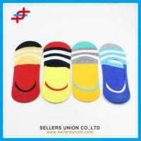 Buy cheap 2016 Fashion Boys Invisible Colorful Stripe Socks from wholesalers