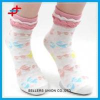 Buy cheap Girl Style Colorful Cute Lace Pattern Tube Socks For Wholesale from wholesalers
