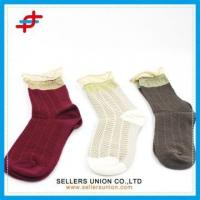 Wholesale Women Socks With Delicate lace from china suppliers