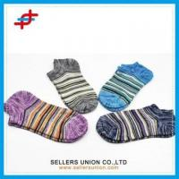 Wholesale Stripe Parttern No Show Invisible Socks from china suppliers
