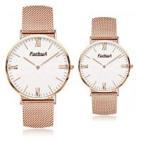 Wholesale Thin model rose gold mesh band quartz watch from china suppliers