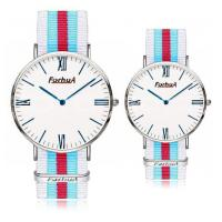 Wholesale Steel case Nylon band classic couple watch from china suppliers