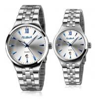 Wholesale FORHUA fashion date blue index couple watch from china suppliers