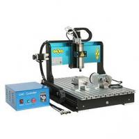 Wholesale CNC Machine CNC 4060Z 2200W 4 Axis Mini CNC Milling Router for Metal and Stone from china suppliers