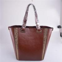 Wholesale women leather shoulder bag with inside small bag from china suppliers