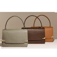 Buy cheap ostrich pu messenger bag faux leather messenger bags from wholesalers