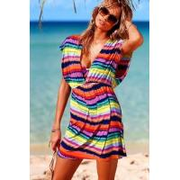 China New Item Rainbow Beach Cover-up on sale