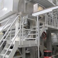 Buy cheap Manufacture of 2400mm Fourdrinier Wire Single Cylinder Toliet Tissue Paper Making Machine from wholesalers