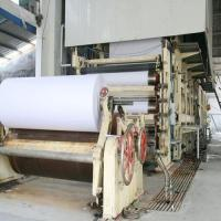 Buy cheap Manufacture of 1575mm Writing Paper/ Printing Paper Making Machine for 5T Per Day from wholesalers