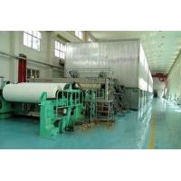 Buy cheap Manufacture of 1760mm Double Cylinder Double Wire Newsprint Paper Making Production Line from wholesalers