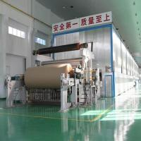 Buy cheap 2750mm Double Fourdrinier Wire Kraft Paper/Liner Paper Production Line from wholesalers