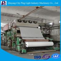 Buy cheap Manufacture of 2880mm Cylinder Toilet Tissue Paper Making Machine for 10-12tons Per Day from wholesalers