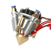3 in 1 out Hotend for multi-color/Mix color 3D printing
