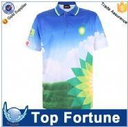 Wholesale Polo Provide OEM service unisex man polo fashion dye sublimation t-shirt printing from china suppliers