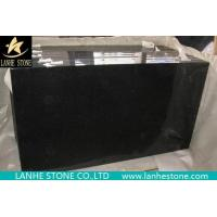 China Polished Absolute Black Granite Tiles Polished Shanxi Black on sale