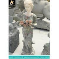 Sculpture Handcrafts Hand Carved Mary Garden Statue Garden Decoration for sale
