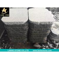Landscaping Stones China Dark Grey G654 Granite Bush Hammered and Natural Split Paving Stone for sale