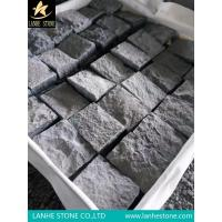 Landscaping Stones Low Price G654 Granite Paving Stone Padang Dark Granite Cube Stone Pavers for sale
