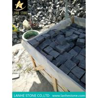 Landscaping Stones G654 Granite Paving Stone with Mesh G654 Granite Cube Stone Pavers for sale
