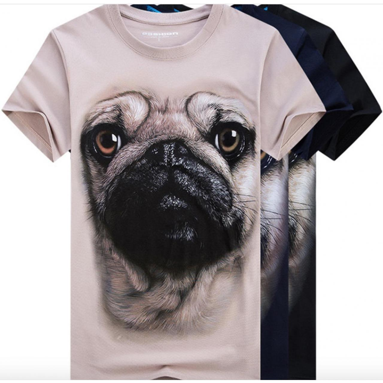Wholesale 3D Sublimation Printing T-shirt Crew Neck Short Sleeve from china suppliers