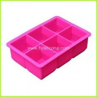Wholesale 6-Cavity Silicone Ice Cube Tray FYJ-046