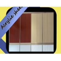 Buy cheap China Manufacturer 1mm interior decoration acrylic sheet from wholesalers