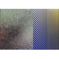 Buy cheap New Style Acrylic Embossed Sheet | Pattern Acrylic Sheets For Shower Door Decoration from wholesalers