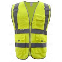 Fluorescent safety vest Product number: YX-15125